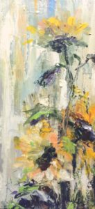 Sunflower_12x24 by Karen Ahuja Studio