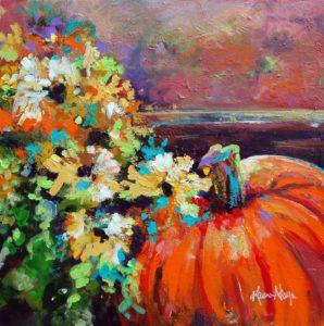 pumpkinmum_24x24 by Karen Ahuja Studio