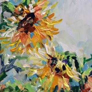 Sunflower Pride by Karen Ahuja Studio