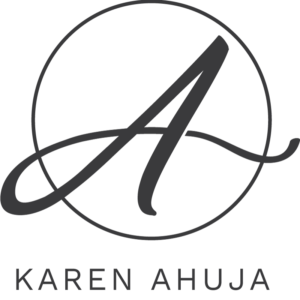 Karen Ahuja Studio Badge - Blk