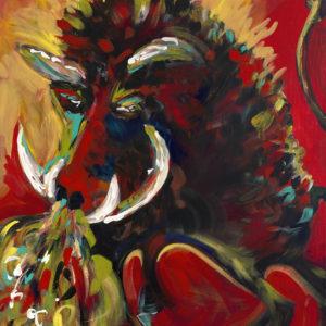 Razorback Fury by Karen Ahuja Studio