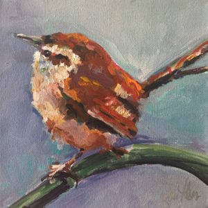 Brown Wren by Karen Ahuja Studio