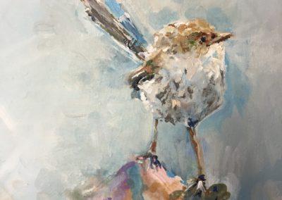Gray Wren by Karen Ahuja Studio
