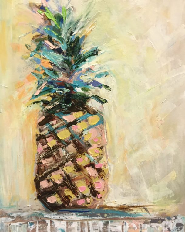 Pineapple Shine by Karen Ahuja Studio