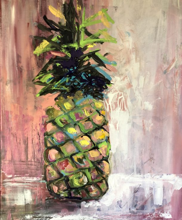 Pineapple Blush by Karen Ahuja Studio