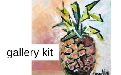Portfolio/Gallery Kit/Art Licensing Kit/Media Kit