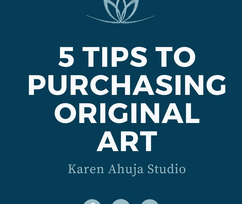 "No One ""Screws Up"" Buying Original Art"